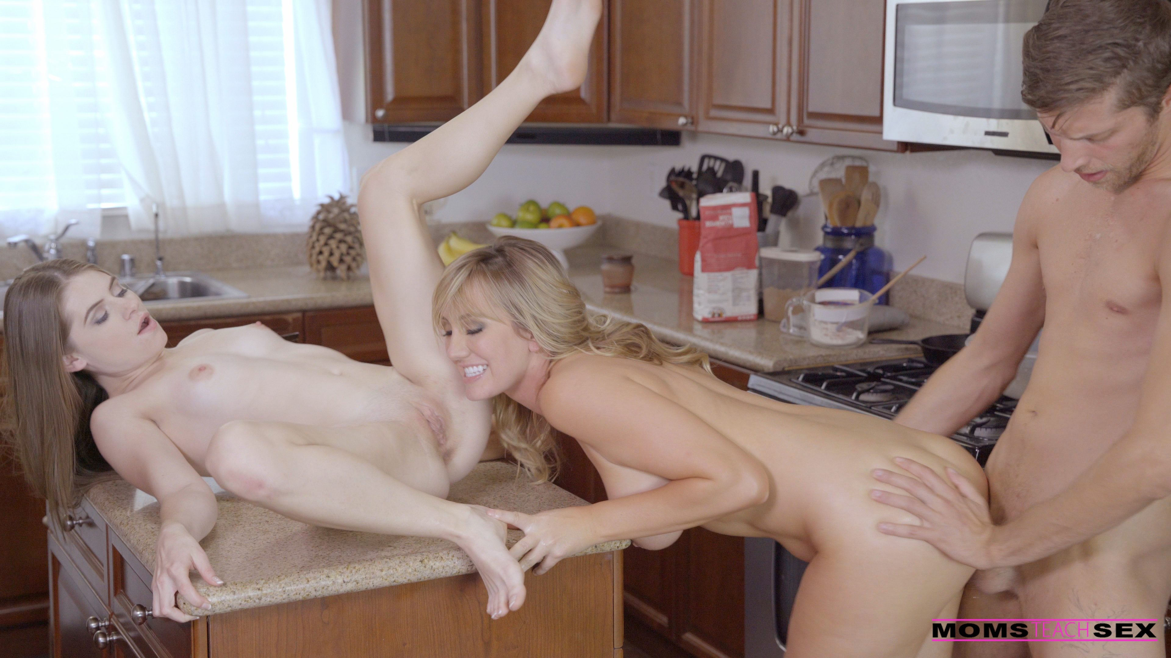 MomsTeachSex.com - Alice March,Brett Rossi: Hot In Here - S6:E1